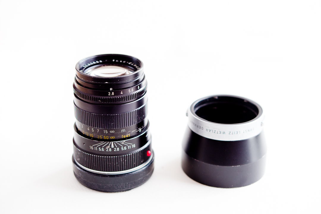The Leica tele elmarit 90mm