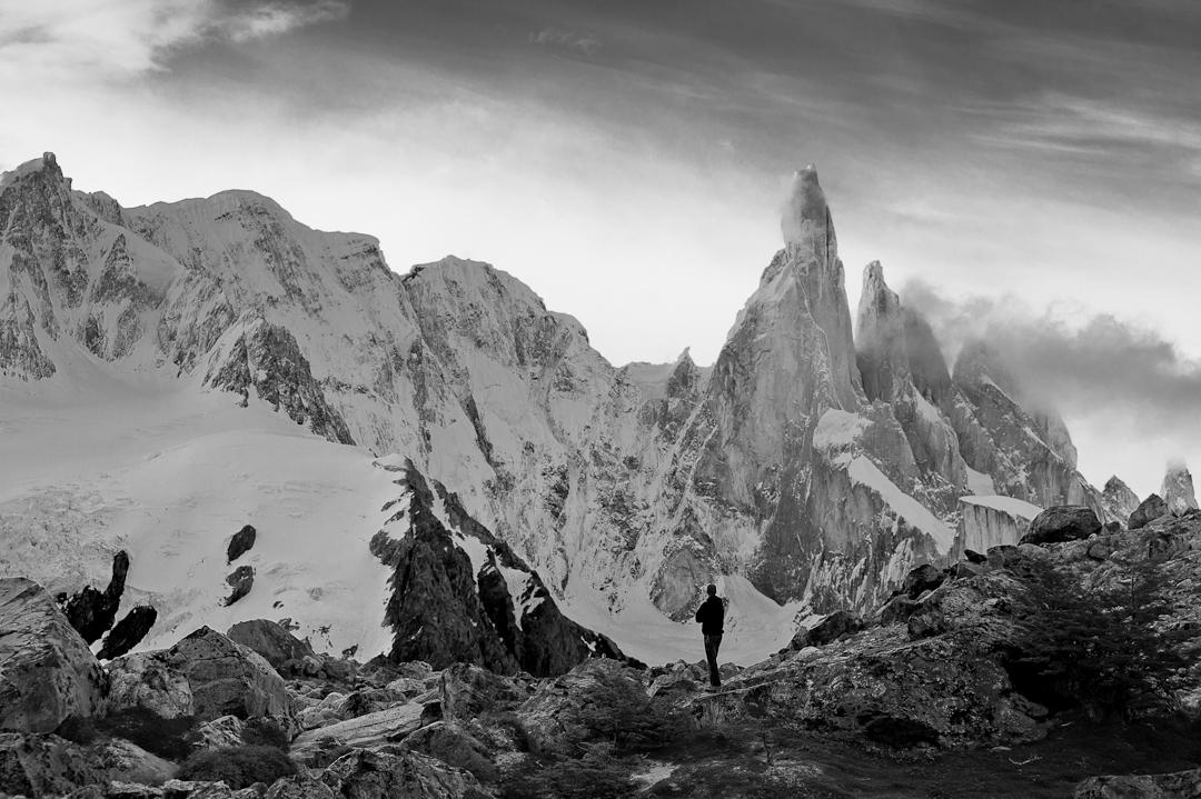 Here the magnificent Cerro Torre in Los Glaciares, Argentina.