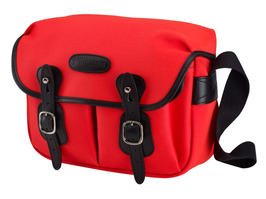 Hadley Small Neon Red & Black