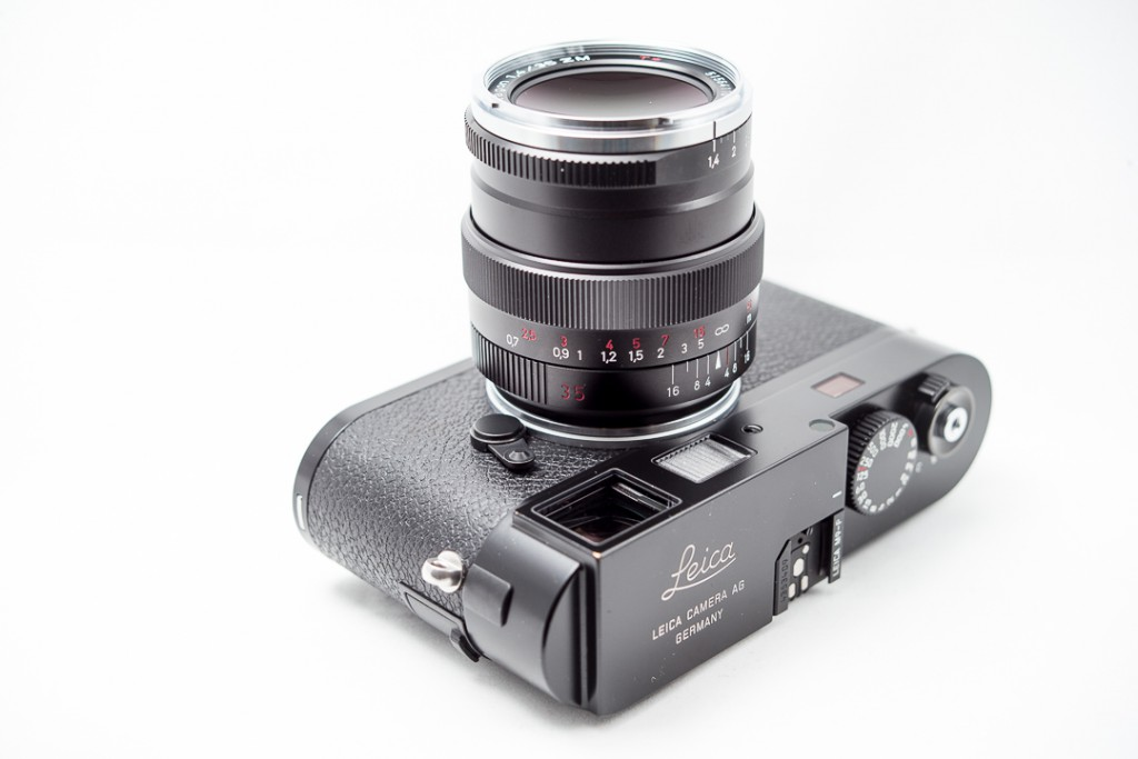 The Zeiss 35/1.4 on the Leica M9-P