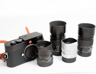 An 'entry level' Leica set: price and weight differences