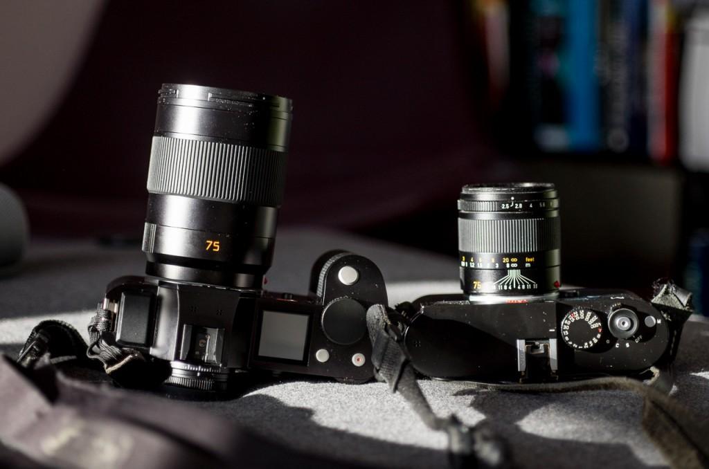 The Leica APO-Summicron-SL 75/2.0 APSH on the SL versus the Summarit 75/2.5 on the M.