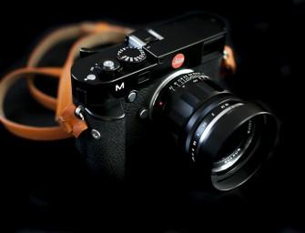 Handgrip for the Leica M240