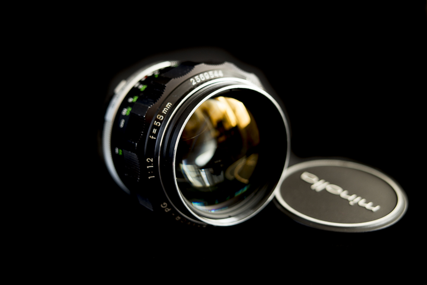 The lovely Rokkor 58/1.2 earliest version