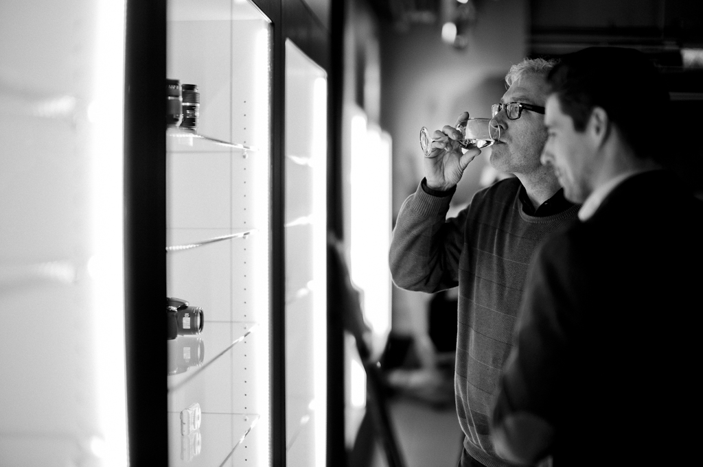 Joeri van der Kloet documented the release of the Leica MM Ralph Gibson edition