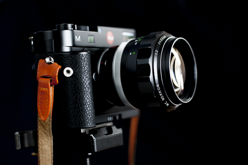 The Rokkor on the Leica M240