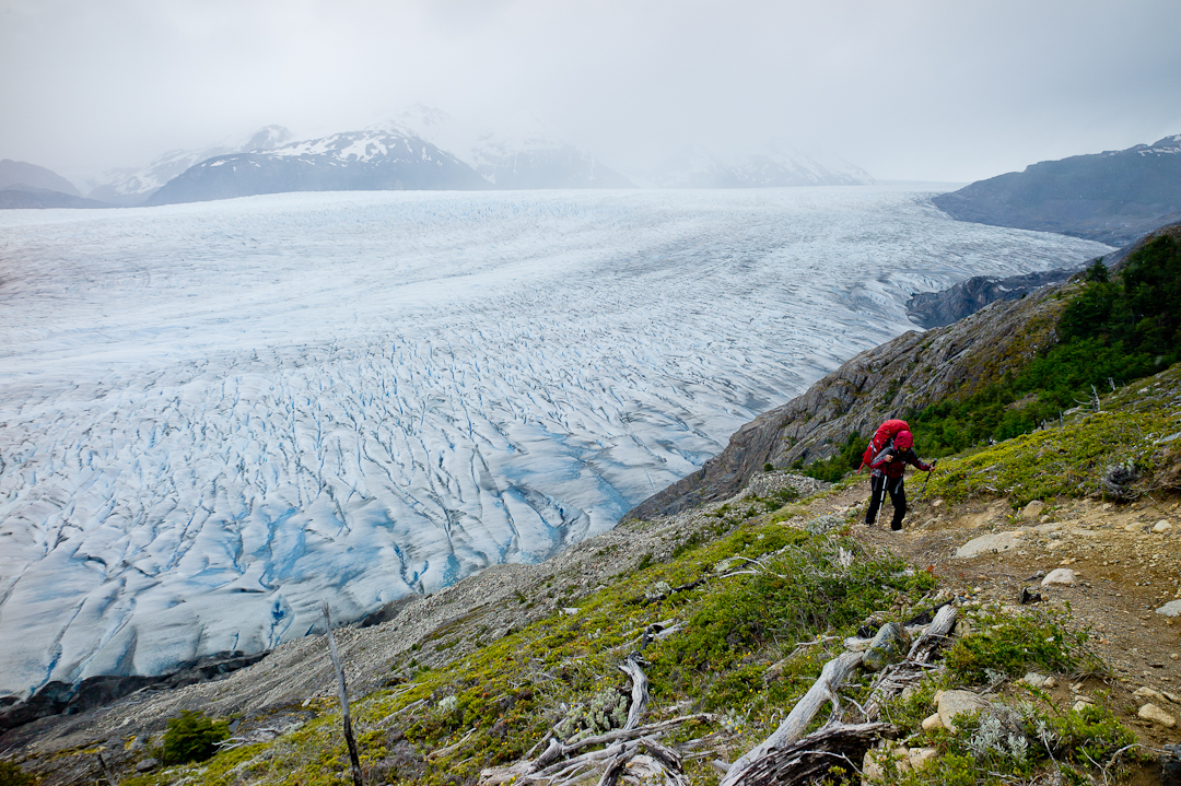 Showing more of the natural grandeur of this beautiful glacier in Patagonia