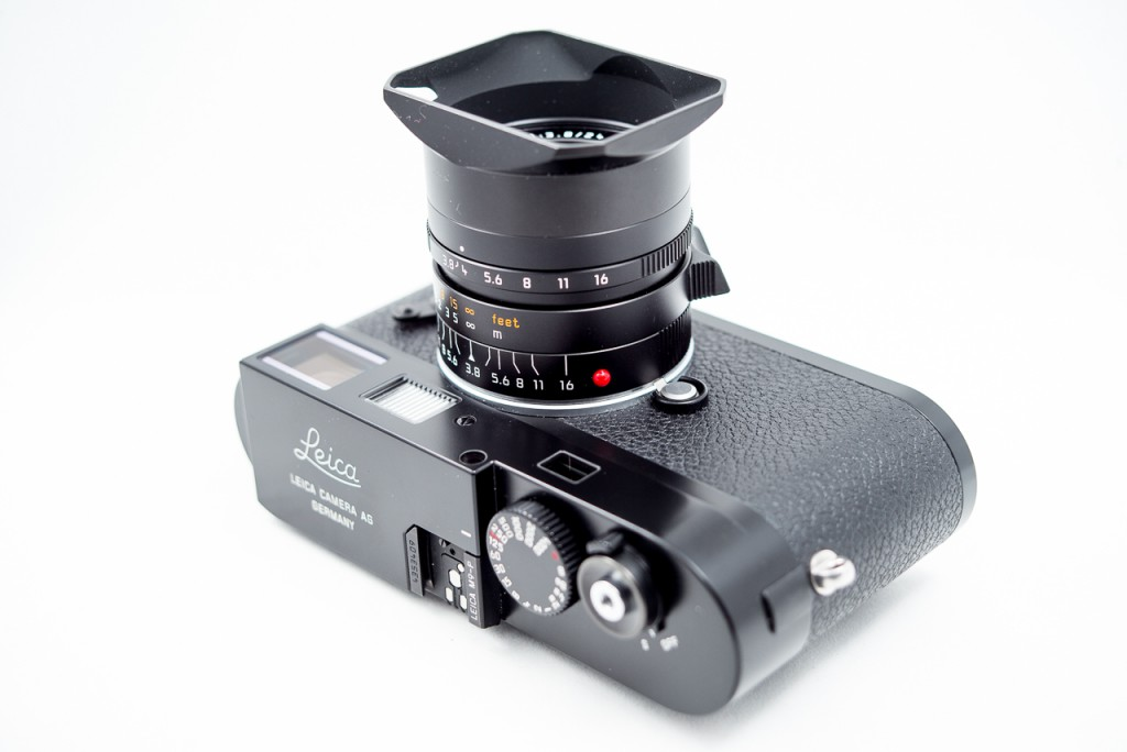 The Leica 24/3.8 on the Leica M9-P. A terrific combination