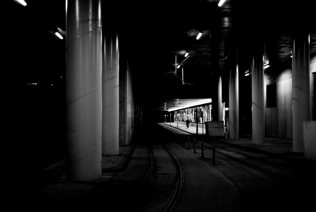 Though the Zeiss 35/2.8 isn't fast, you can use it for night photography if you have a steady hand.