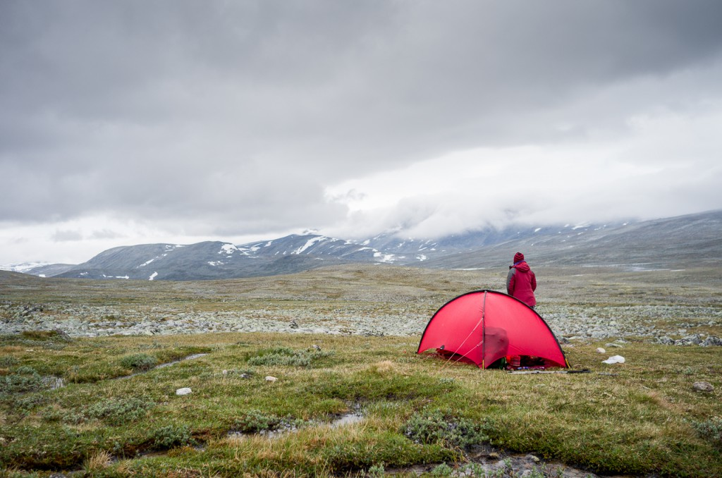Home is where my Hilleberg is. I'm not kidding...