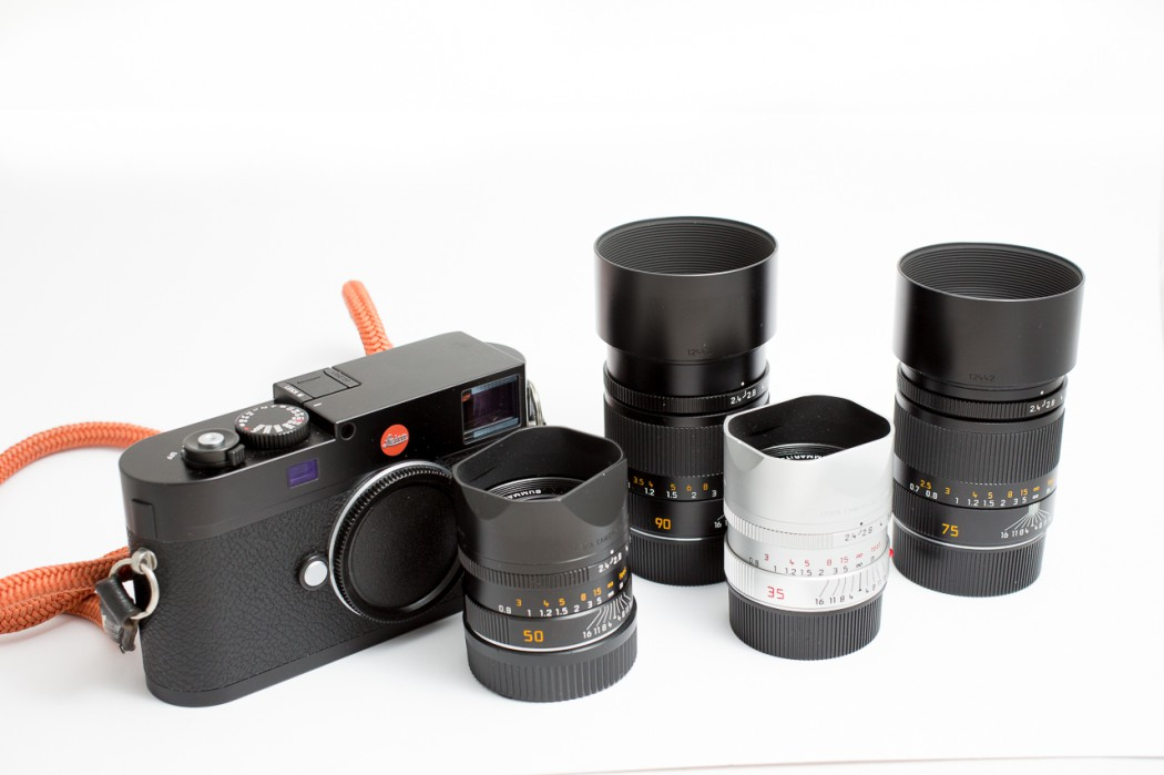 An 'entry level' Leica set: price and weight differences - Joeri van