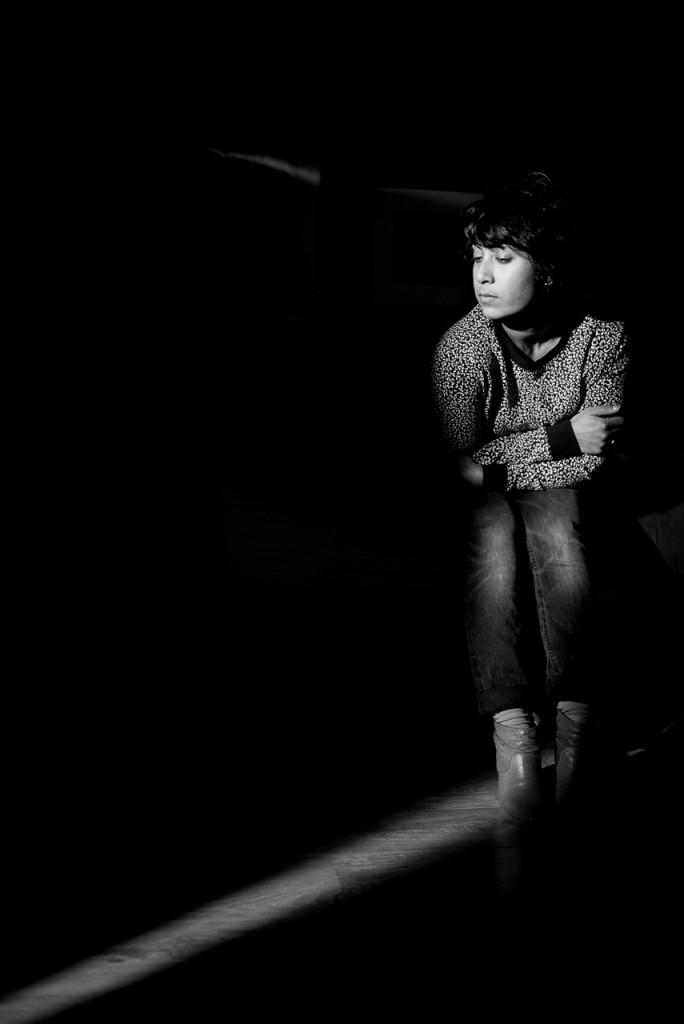 Environmental portrait, with the Hedler 1000X continuous light kit.