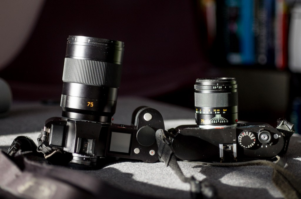 The Leica APO-Summicron-SL 75/2.0 APSH on the SL versus the Summarit 75/2.5 on the M.