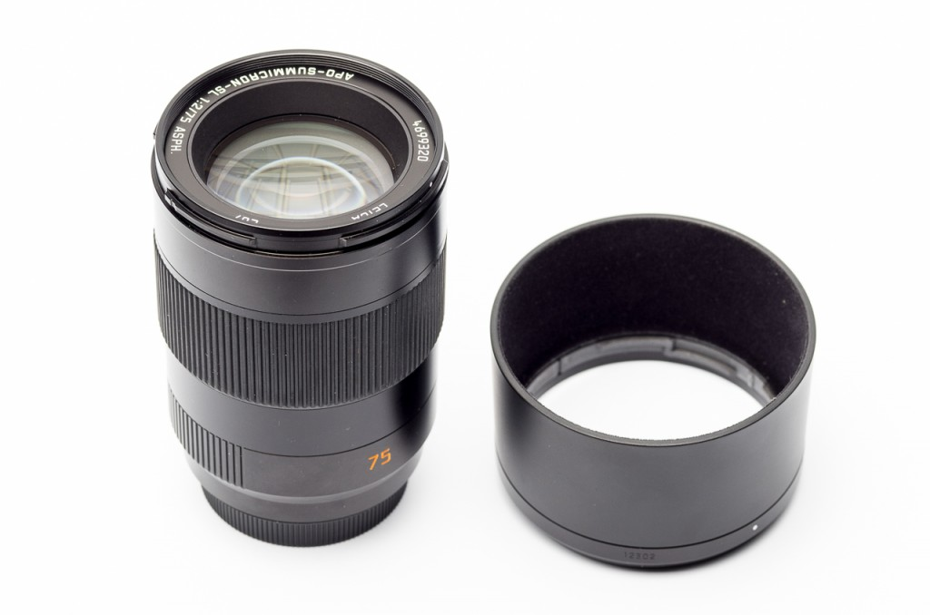Even the hood has a steel base. This lens is built for the future.