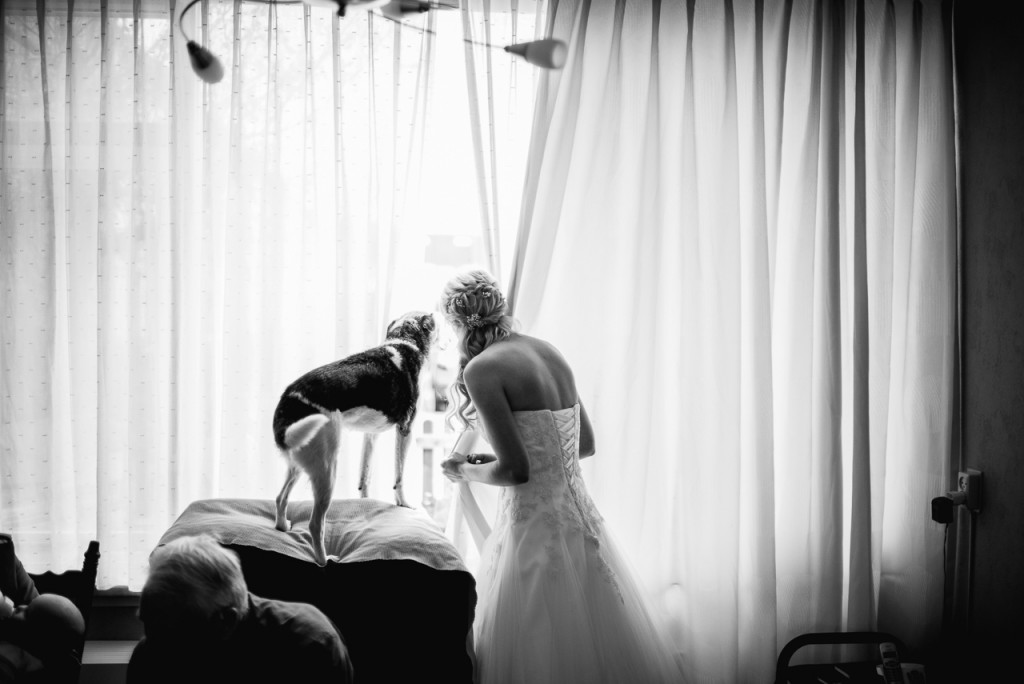 Another favorite of mine. If I had to show one picture that says everything about how I shoot a wedding, it would be this.