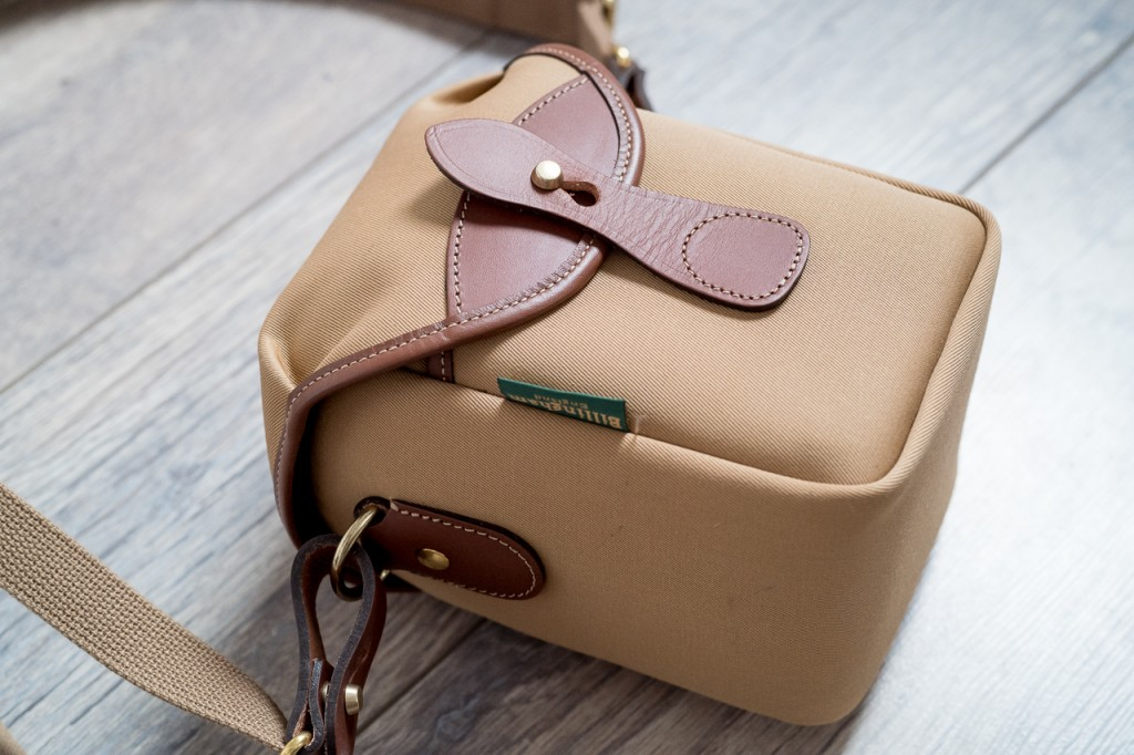 The Billingham 72 is beautifully made and offers maximal protection for minimal gear.