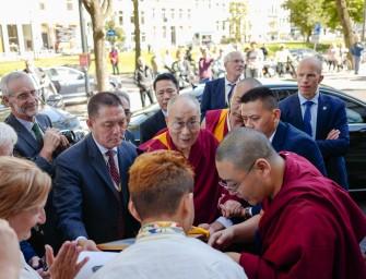 Up close with the dalai lama