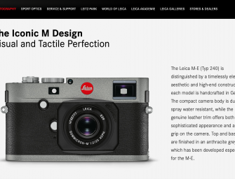 A new affordable Leica M