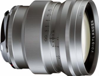 Voigtländer announces 75/1.5 lens